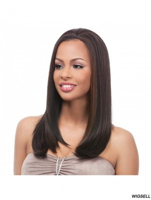 Long Wigs UK Straight Half Wig For Sale