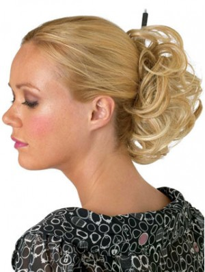 Blonde Bun Hairpiece