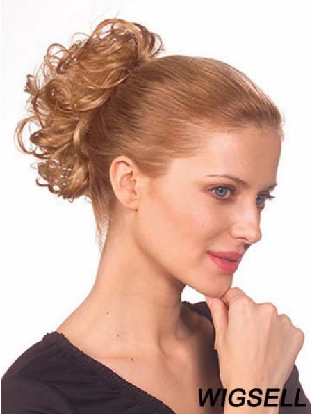 Gorgeous Wavy Blonde Ponytails