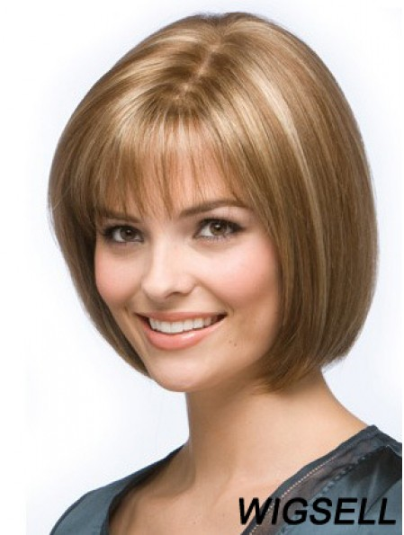 Human Hair Wig Cheap Bob Wig Blonde Hair For Sale