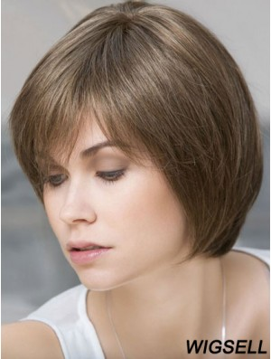 Lace Front Wig Bob Cut Wig UK Natural Remy Human Hair Wig Online
