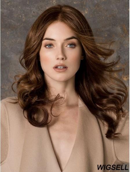 Petite Monofilament Wigs For Women Long Length Auburn Color
