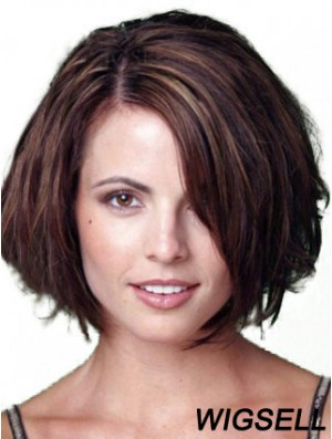 Auburn Wig Chin Length Wig For Women Human Hair in Big Discount