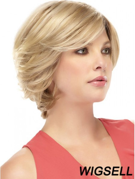 Blonde Wig Lace Front Short Wig Human Hair Wig For Women