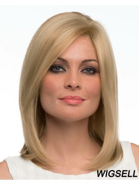 Human Hair Wigs For Women With Bangs Capless Shoulder Length