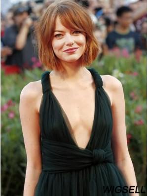 Natasha Gregson Wagner Wigs Remy Human Bobs Cut Chin Length