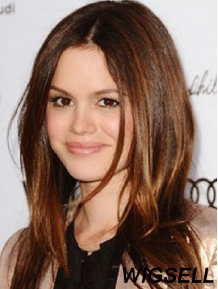 Monofilament Top Lace Wig UK Human Hair Long Straight Hair