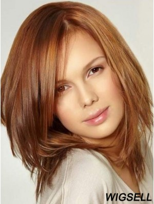 Women Wigs Auburn Human Hair Lace Wigs UK Cheap