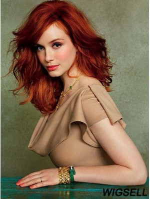 Christina Hendricks Wigs Online With Capless Shoulder Length Cropped Color