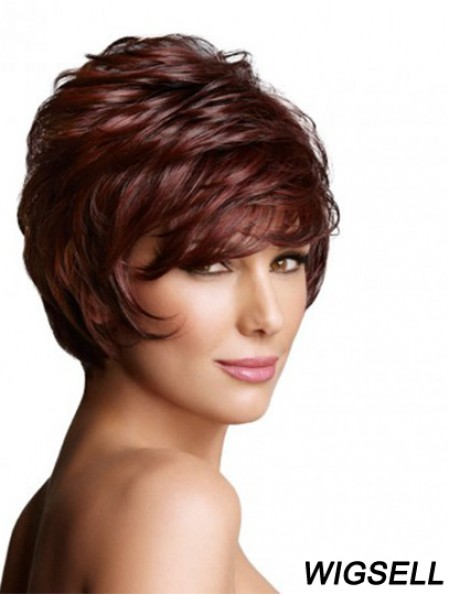 Monofilament Wavy Layered Short 7 inch Exquisite Wigs