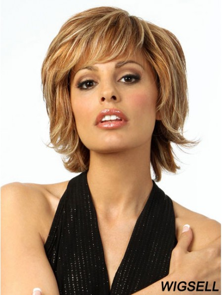 Chin Length Wavy 100% Hand-tied Wigs For Sale Online