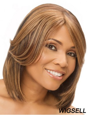 Remy Human Straight Hand Tied Cheap Monofilament Human Hair Wigs Sale
