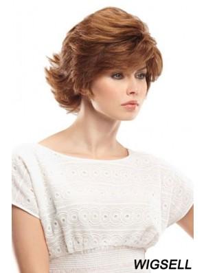 11 inch Perfect Auburn Bobs Monofilament Wigs
