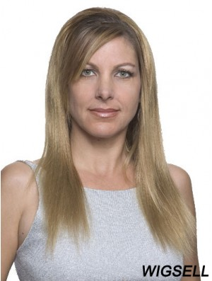 Straight 100% Hand-tied Blonde New Long Wigs