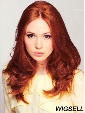 Human Hair Wigs Long Wavy Popular Wig Karen Gillan Style