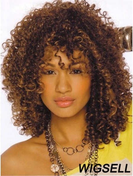 Curly Wigs African American Wigs For Women Shoulder Length