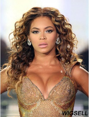 Curly Lace Wig Beyonce Style Long Wig UK