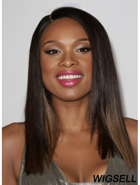 Straight Wig Long Jennifer Hudson Wig Full Lace Indian Remy Hair 16 Inch