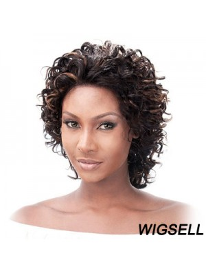 Glueless Lace Front Human Hair Wigs Auburn Color Chin Length