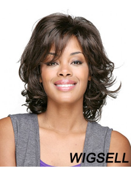 African Hair Shop Online With Bangs Curly Style Shoulder Length