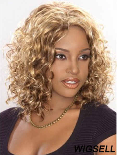 African American Wig Shoulder Length Curly Wig UK For Sale