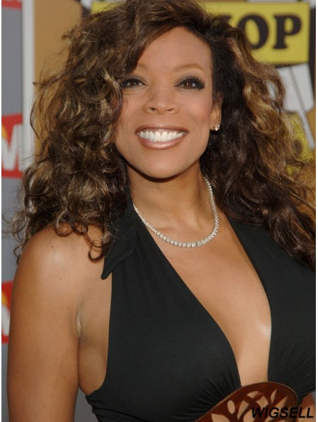 Wendy Williams Wigs With Capless Remy Human Curly Style