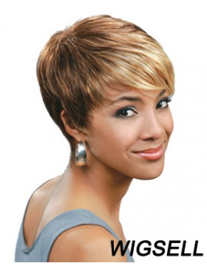 New Wigs UK African Striaight Hair Short Wigs Cheap