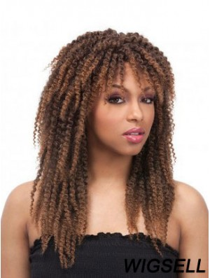 Kinky Curly Wig Layered African Wig UK Cheap Wigs For Black Women