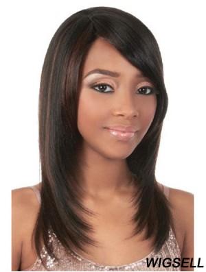 Remy Human Capless Yaki Cheap Human Hair Wigs For Black Woman