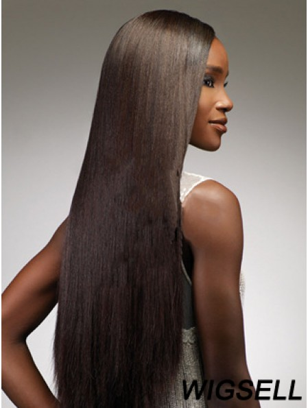 24 inch Brown Lace Front Wigs For Black Women