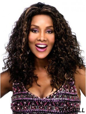 Lace Front Wig Curly Hair African American Long Wig For Women