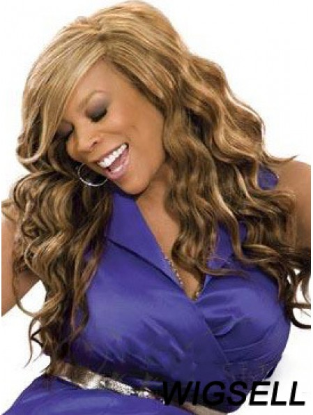 Wavy Brown 20 inch Online Wendy Williams Wigs