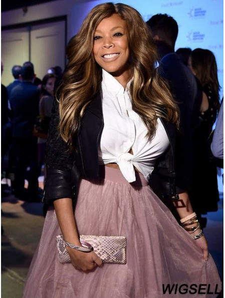 Without Bangs Wavy Brown 20 inch Online Wendy Williams Wigs