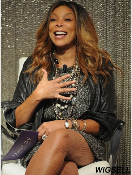 Layered Wavy Ombre/2 Tone 20 inch New Wendy Williams Wigs