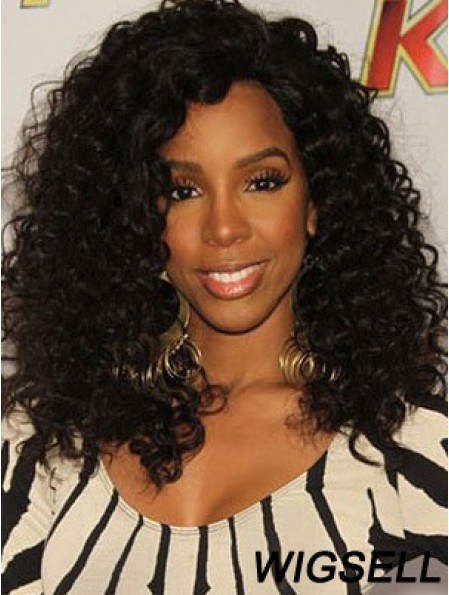 Cheap 14 inch Long Kinky Wigs For Black Women