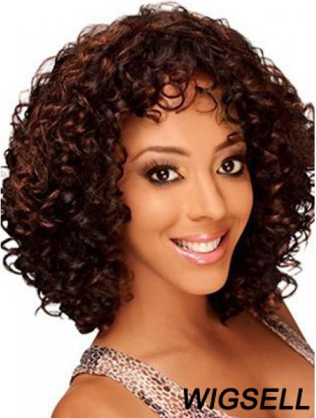 Sleek 12 inch Short Kinky Wigs For Black Women