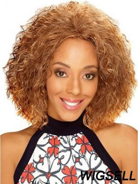 Online 12 inch Chin Length Kinky Wigs For Black Women