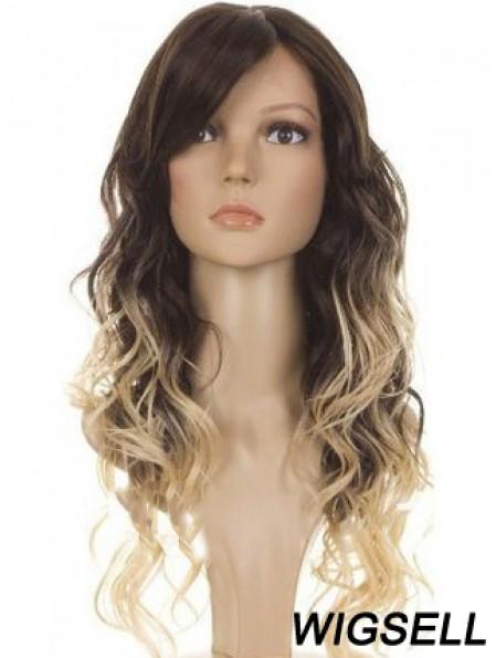Cheap 24 inch Long Wavy Wigs For Black Women