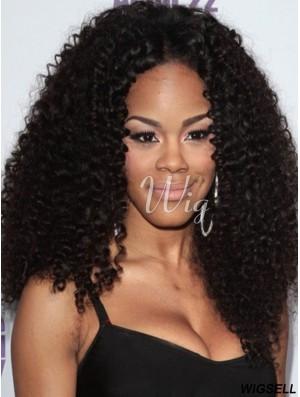 Sassy 16 inch Long Kinky Wigs For Black Women