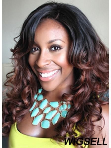 Style 18 inch Long Wavy Wigs For Black Women
