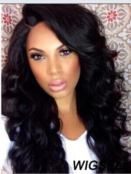 Capless Curly African American Black 15 inch Synthetic Wigs