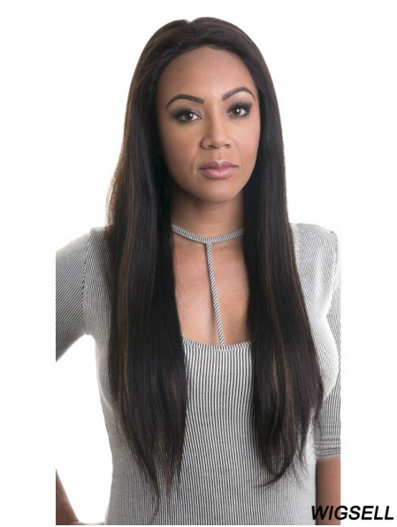 Ombre/2 tone 20 inch Straight Lace Front Wigs For African American Women