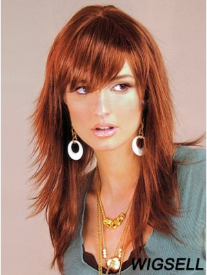 Layered wig Beautiful Auburn Hair Long Wig UK