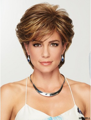 Layered Wig Discount Short Hair Wig UK Online With Capless