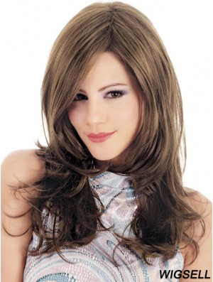 Long Wavy Wig Cheap Glueless Wigs 18 Inch Online