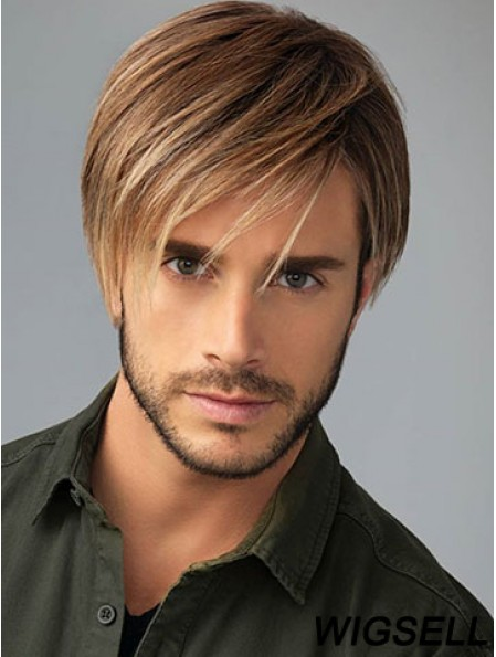 Monofilament Wigs Short Men Wig For Sale Chiseled Wig Online