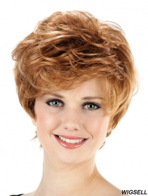 Capless Wigs Ladies Short Synthetic Wig New