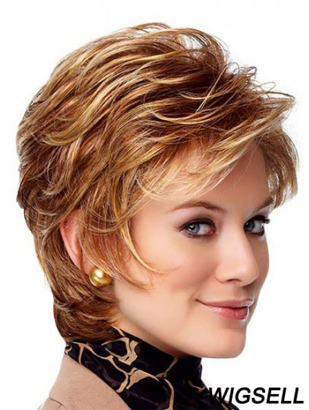 Buy Lace Front Wigs UK With Monofilament Chin Length Boycuts