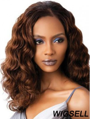 Wavy Wig, Auburn Hair Shoulder Length Wig UK Full Length Wig