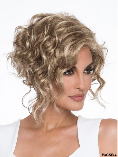 Cropped Capless Blonde 6 inch Classic Lady Wig
